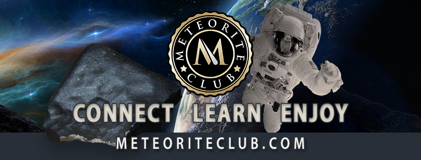 New Meteorite Club BoD member elected: Topher Spinnato