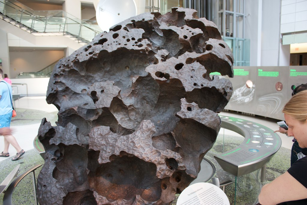 Willamette Meteorite at the American Museum of Natural History